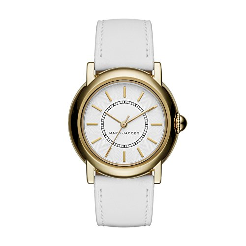 Marc Jacobs Women's Courtney White Leather Watch - MJ1449