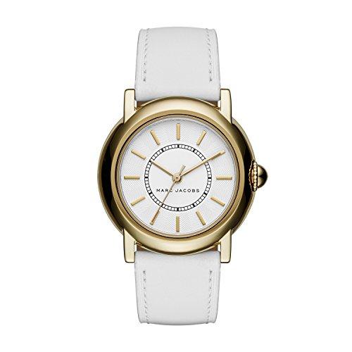 Courtney White Leather Watch - MJ1449 ()