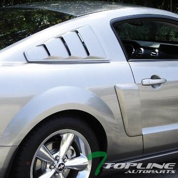 07 mustang gt rear window louvers - 2