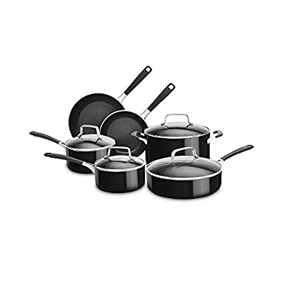 KitchenAid 10-pc. Aluminum Nonstick Cookware Set K