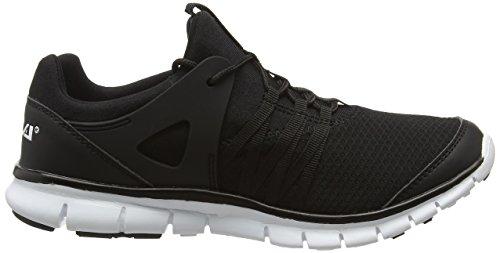 Gola Akita, Zapatillas de Running para Mujer Negro (Black/white)