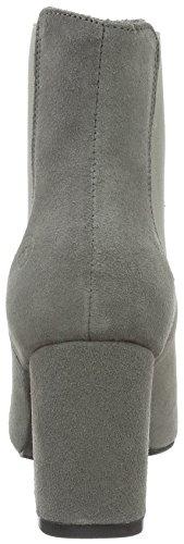 Bronx Indira, Zapatillas de Estar por Casa para Mujer Gris - Grau (Grey 08)