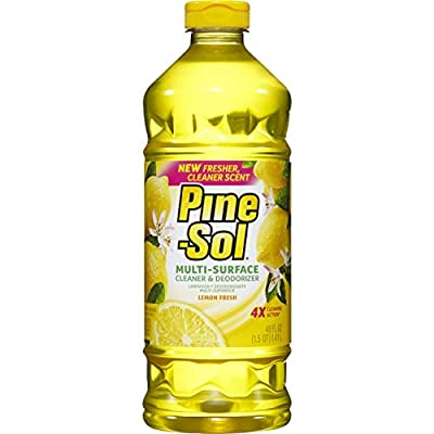 Pine-Sol Multi-Surface Cleaner, Lemon Fresh, 48 Ounce Bottle