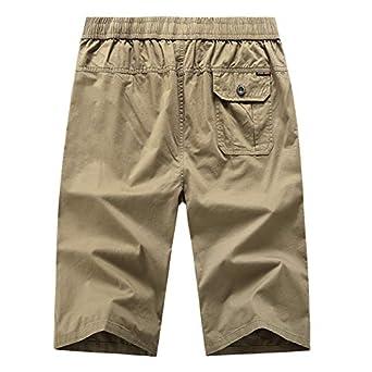 Pantalones De Hombre Moda Casual para Hombres Color Puro Aire ...