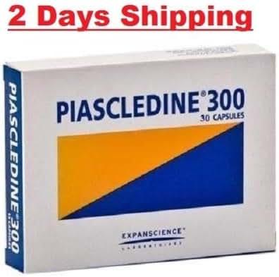 4 X Piascledine 300 mg-30 Capsules = 120 Caps