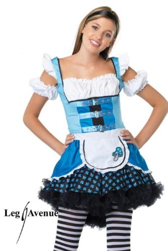 Alice In Wonderland Jr Costumes (Magic Mushroom Teen/Junior Costume - Teen Medium/Large)