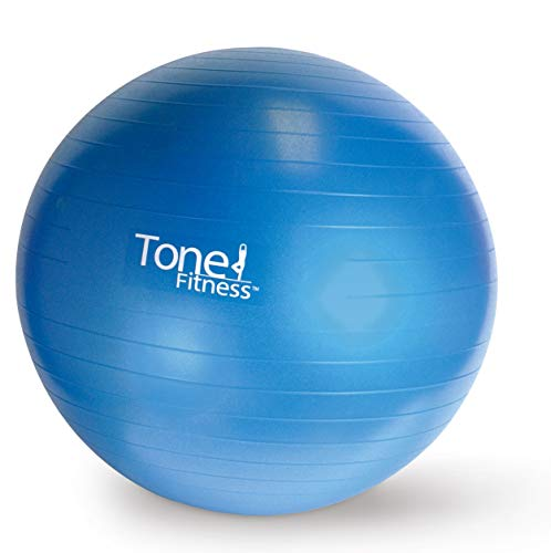 Image of Tone Fitness Stability Ball / Exercise Ball | Exercise Equipment