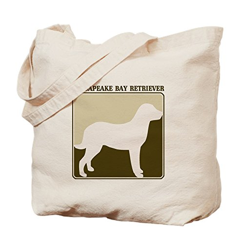 CafePress - Professional Chesapeake Bay R - Natural Canvas Tote Bag, Cloth Shopping Bag (Bag Tote Silhouette Pets)