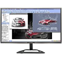 Sceptre E E248W-1920R 24' Ultra Thin LED Monitor HDMI, Metallic