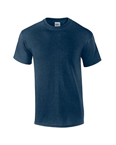 Gildan SoftstyleTM Adult Ringspun T-Shirt Heather Navy L