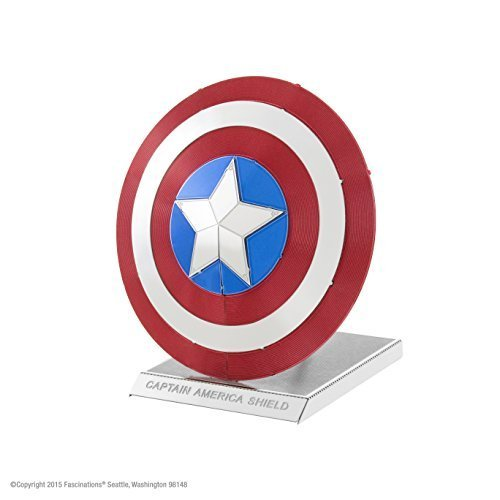 Which are the best metal earth captain america shield available in 2020?