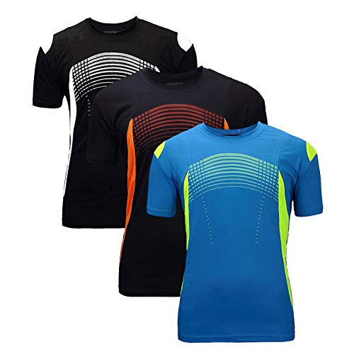 ZITY Running Tshirt for Mens/All Sport Training Tee Shirts Blue Navy Black S ()