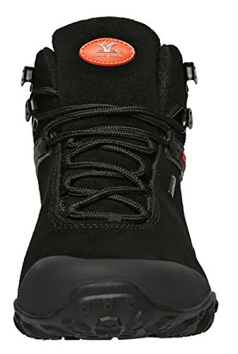 1b4a5c1ca3a XIANG GUAN Men's Outdoor High-Top Lacing up Water Resistant Trekking Hiking  Boots