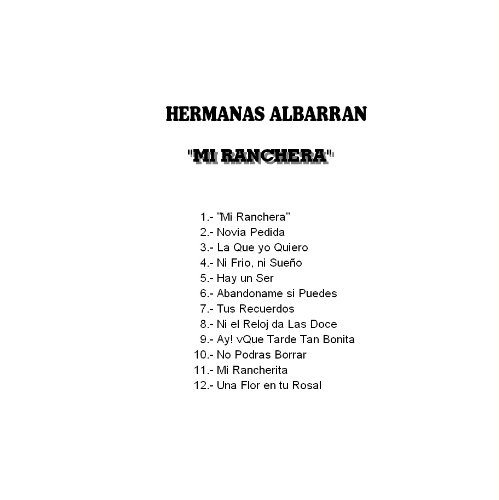 HERMANAS ALBARRAN - Hermanas Albarran Mi Ranchera - Amazon.com Music