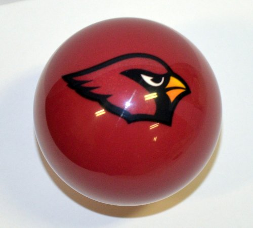 Arizona Cardinals Nfl Billiard Balls - NFL Billiard Ball * All teams and colors * Great for replacement (Arizona Cardinals Red)
