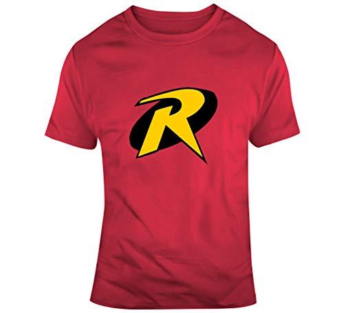 (Robin Boy Wonder Costume Logo Comic Character T Shirt S)