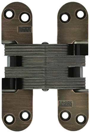 SOSS 218 Zinc Invisible Hinge with Holes for Wood or Metal ...