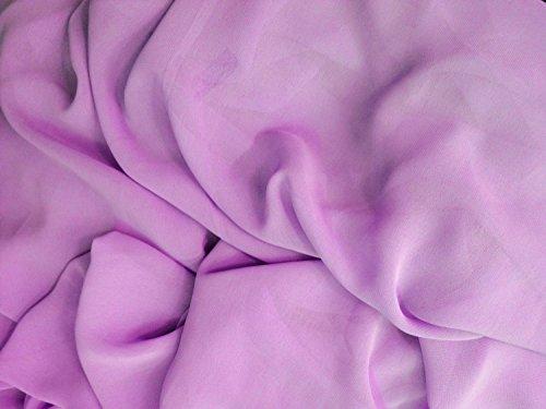 Chiffon Lavender 58 Inch Fabric By the Yard