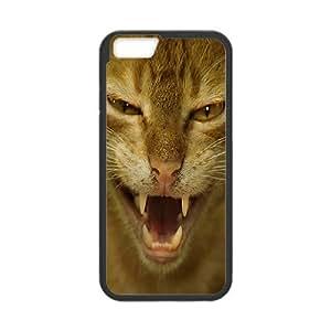Cat Series, IPhone 6 Plus Cases, Cat Wild Cases for IPhone 6 Plus [Black]