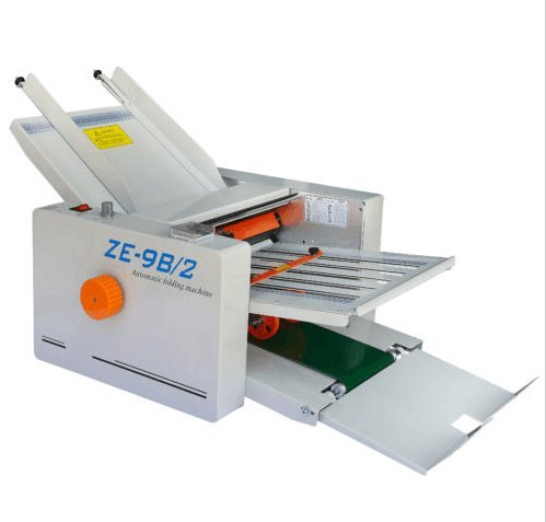 Paper 2 Folding Plates Auto Folding Machine 210420mm by CGoldenWall