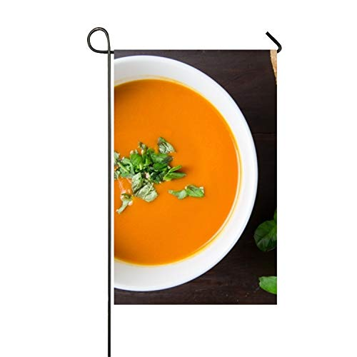 ppetizer Bowl Bread Double-Sided Appliqu¨¦ Garden Flag-12 W by 18¡H-Outdoor Flag ()