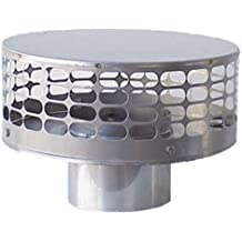 The Forever Cap CCFS8 8-Inch Stainless Steel Liner Top Chimney Cap