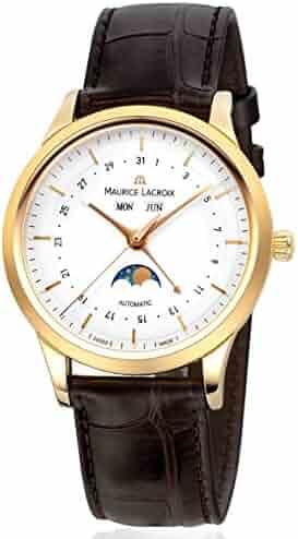 Maurice Lacroix Les Classiques LC6068-YG101-13E 18K Yellow Gold Automatic Men's Watch