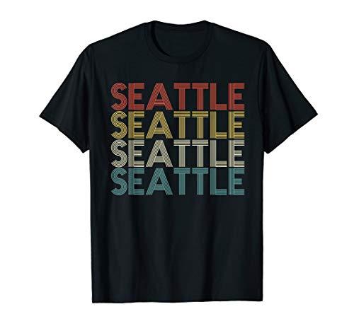(Retro Seattle Shirt - Classic Vintage Seattle T Shirt)