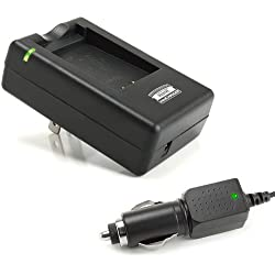 FUJI BC-45 Replacement NP-45 / NP45 On-the-Go Rapid Battery Charger for select FujiFilm FinePix JX , JZ , JV , EXR Cameras - By Accessory Power