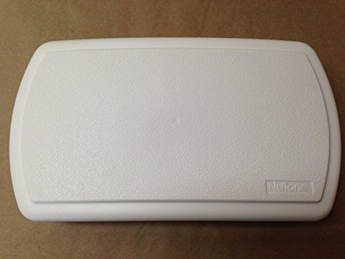 Broan Nutone White Plastic Doorbell, Chime Cover Only