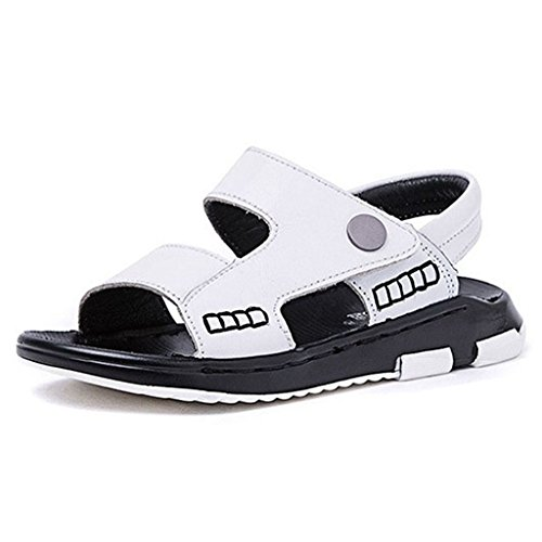 Boy's Opened Toe Sandals Girl's Summer Adventure Seeker Casual Athletic Fisherman Squeaky Shoes by GIY