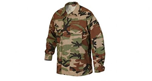 Tru-Spec Classic BDU Coat Cotton Ripstop Woodland 3XL-Reg 1514008