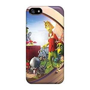 5/5s Scratch-proof Protection Case Cover For Iphone/ Hot Spacesuit Aliens Phone Case