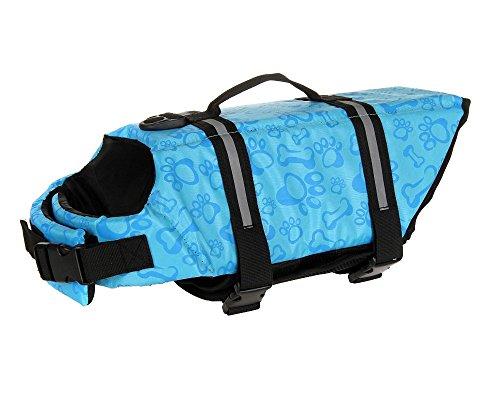 ONLY ONE YOU Schwimmweste für Hunde Schwimmhilfe für Hunde 7 Größen zur Auswahl (XXS - XXL) Blau (XXL)