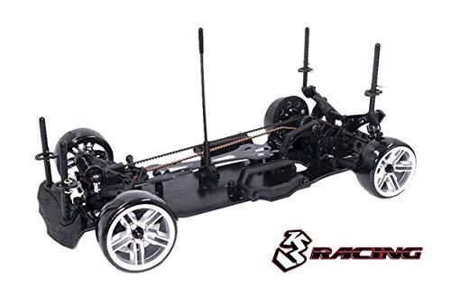 3Racing RC Model KIT-D4AWDS/BK 3RACING Sakura D4 Sport Black Edition 1/10 Drift Car Kit -