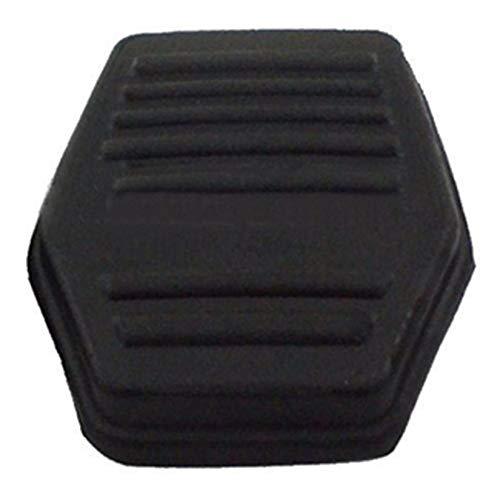 Reemplazo directo de la cubierta de la almohadilla de goma del pedal del embrague de freno de 1 par para Ford Transit MK6 MK7 2000-2014 Accesorios para autom/óviles Negro