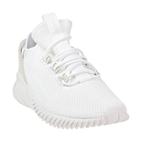 Adidas Originaler Mænds Rørformet Doom Sok Primeknit Sko Hvid / Hvid / Hvid eruWRvYQ7Y