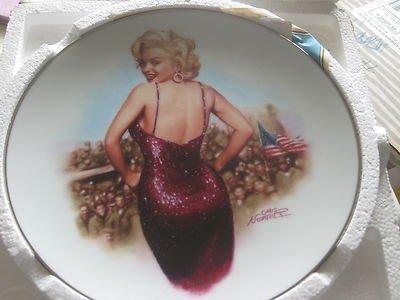 (Marilyn Monroe Bradford Exchange Plate