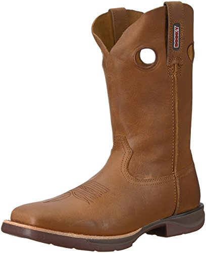 - Rocky Men's RKW0142 Western Boot, Tan, 8 M US