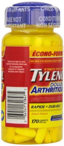 Tylenol Arthritis Pain - 170 caplets 650 mg