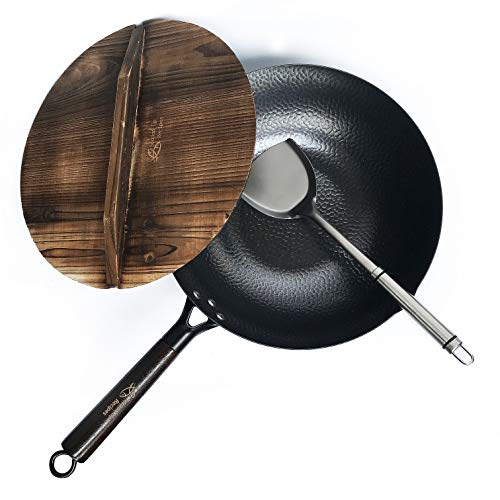 Carbon Steel Wok Electric