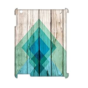 Aztec Wood 3D-Printed ZLB606704 Customized 3D Cover Case for Ipad 2,3,4 by icecream design
