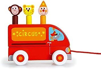 Scratch Rayures Pop up Circus Jouet pour Enfant: