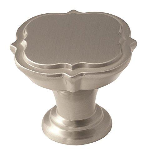 (Amerock BP36628G10 Grace Revitalize Cabinet Knob, 1-3/8 in (35 mm) Diameter, Satin Nickel)