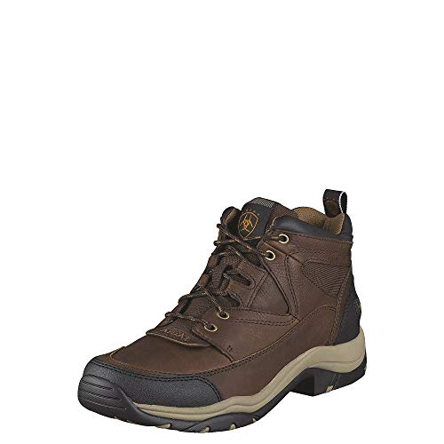 Ariat Women's Terrain Hiking Boots, Brown Oiled Rowdy - 10.5 EE / Wide(Width)