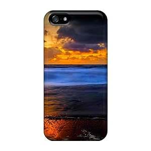 Premium Golden Shore Skin For HTC One M8 Phone Case Cover