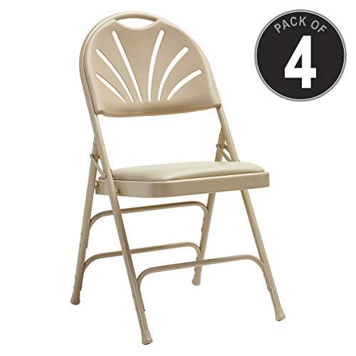 (Samsonite 49756-2899 3000 Series Folding Chair, Neutral)