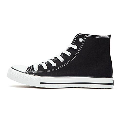 tirare tela giovani top scarpe di di classiche scarpe Nero scarpe indietro top femminile XFF tela High scarpe di amanti tela high maschio 7xqHWXp