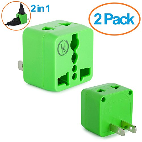 Yubi Power Universal Adapter Outlets product image