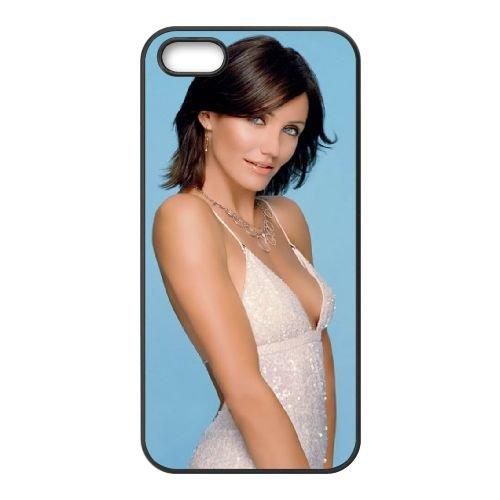 Cameron Diaz Hollywood Celebrity 02 coque iPhone 5 5S cellulaire cas coque de téléphone cas téléphone cellulaire noir couvercle EOKXLLNCD22632